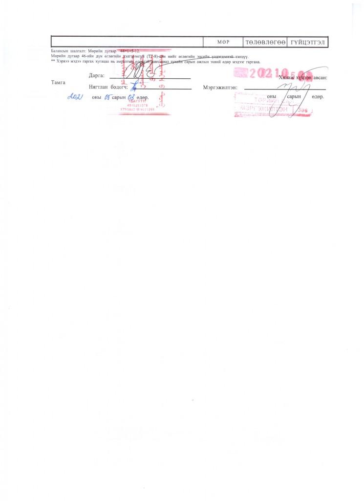 4 sariin toswiin medee1